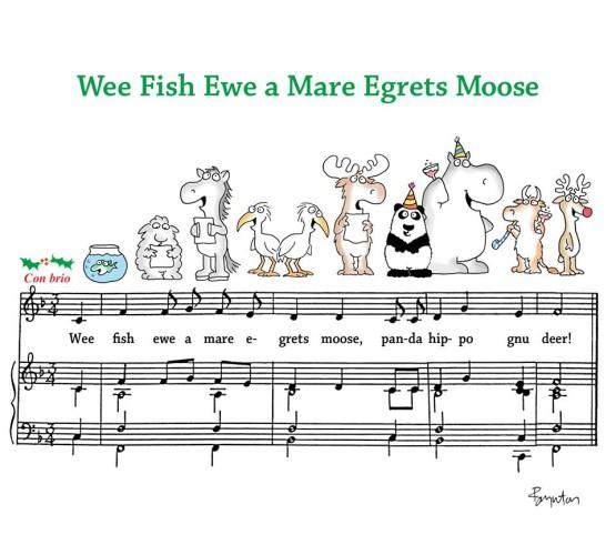 Wee Fish Ewe